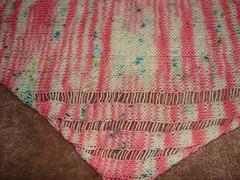 the pink clapotis (stefuni_b) Tags: wool knitting yarn knitty