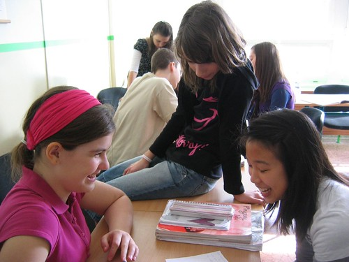 then we went to the gr. 7 German class by rocksee, on Flickr