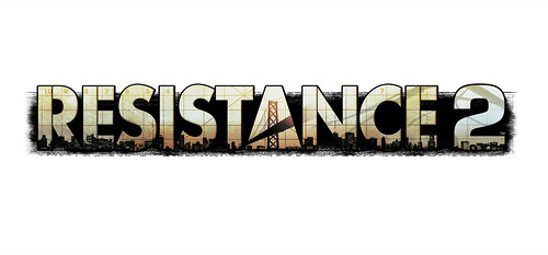 Resistance 2 Logo long by PlayStation.Blog.