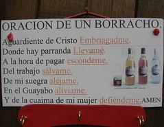 """Oracion de un borracho"" (Eruиэ!!) Tags: de un borracho oracion venezolanadas"