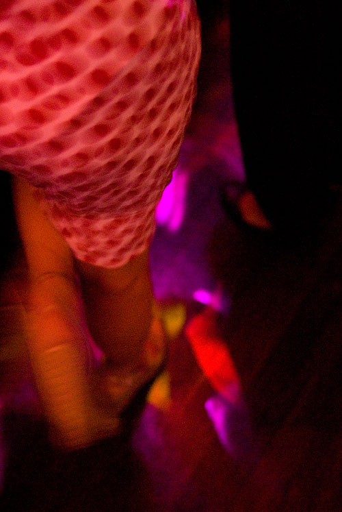 On a dancefloor in Bangkok, Thailand