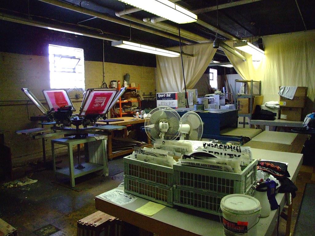 Harper Design T-shirt Printing Room: April 24, 2008