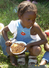 Pray for Haiti (nick_failing) Tags: portrait food kids children haiti nikon village feeding prayer pray poor hunger sundayschool