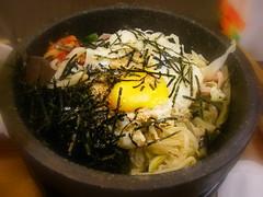 蔬菜石燒拌飯