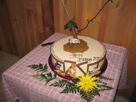 Farmer Bob's 60th Birthday Cake, 2005