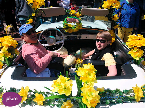 Nantucket Daffodil Festival: Michael Bloomberg & Mathew Swain by Nantucket Plum