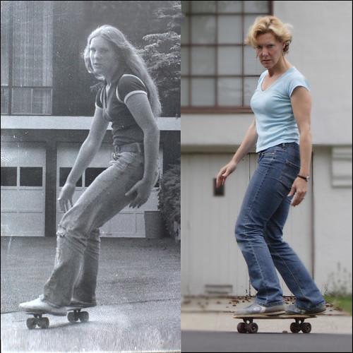 Yo antes, yo ahora patineta