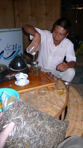 tasting maocha
