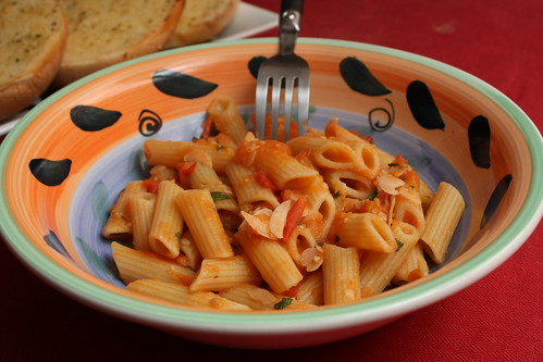 penne vodka from veganomicon