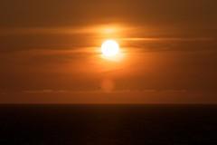 望来の夕陽