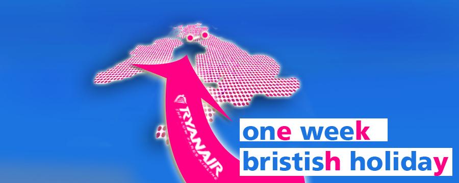 One week british holiday