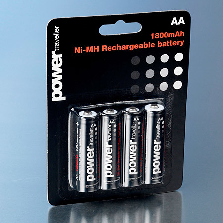 Power Traveller rechargeable AA batteries
