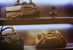 """Again, it's all the emphasis on color and glamour"" (heartbreaker [London]) Tags: london fashion harrods marc bags jacobs handbags"