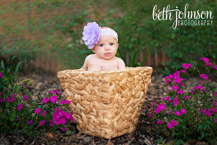 tallahassee baby girl three months in basket