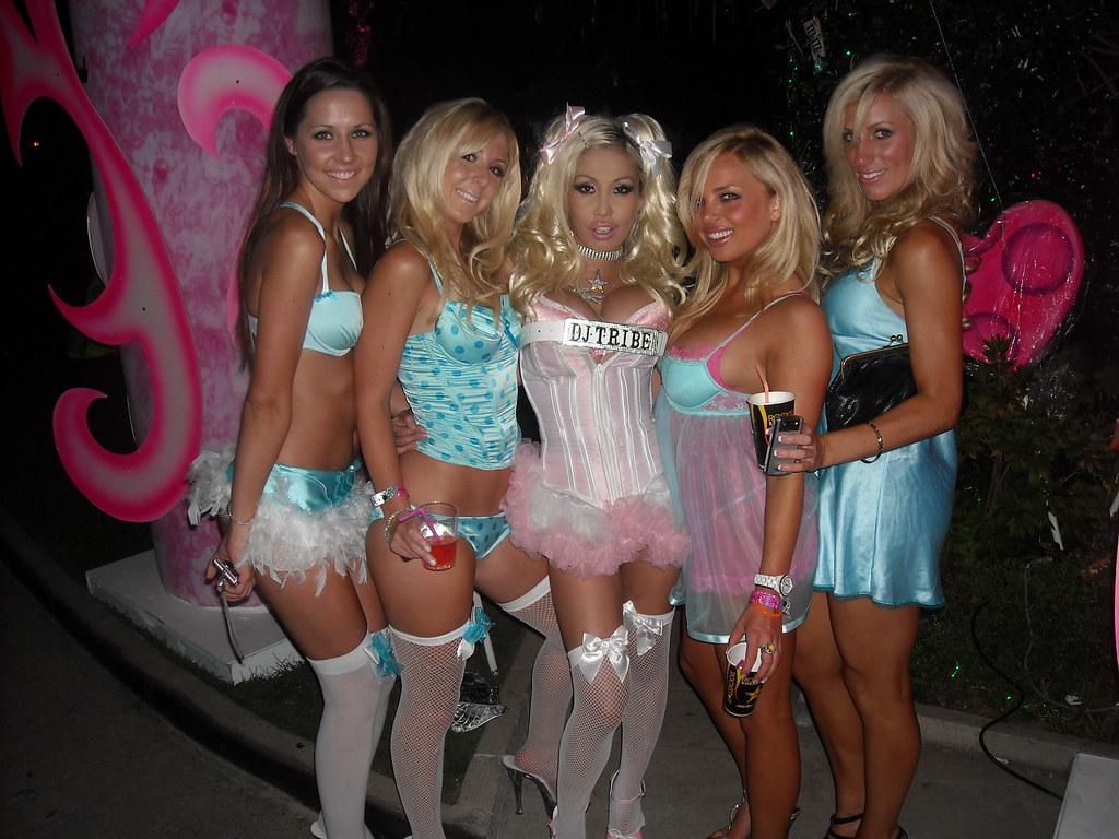 Latina milfs at bachelorette party