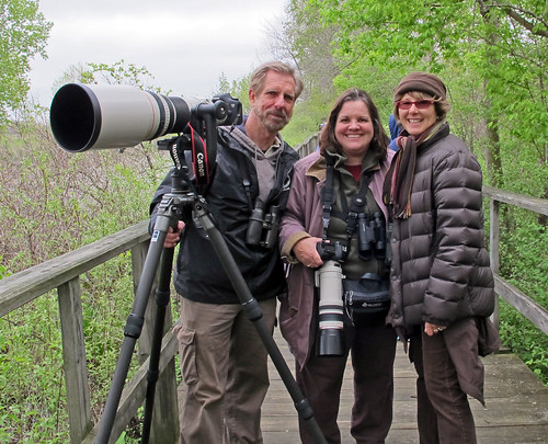 Birding The Magee Marsh Boardwalk with Kenn Kaufman & Dawn Fine by JKissnHug