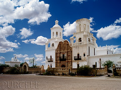 San Xavier del Bac Mission (Jim Purcell) Tags: arizona usa digital mediumformat catholic pentax tucson religion az photograph moorish western christianity romancatholic jesuits sanxavierdelbacmission nationalhistoriclandmark nationalregisterofhistoricplaces societyofjesus eusebiofranciscokino tucsonphotographer spanishcatholicmission pentax645d smcpentaxa64545mm28 tohonoodhamnation fanciscans oldesteuropeanstructureinarizona tohonoodham