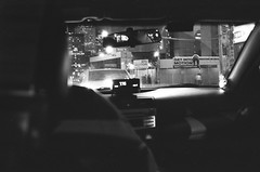 Cabs are Expensive (Breakfast for Dinner) Tags: bw toronto ontario canada film analog canon ae1 d76 400 kentmere canonfd35mmf35
