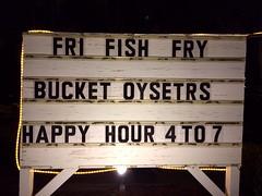 Bucket oysetrs (pmonaghan) Tags: creek island harbor bucket johnson oysters iphone johnsoncreektavern
