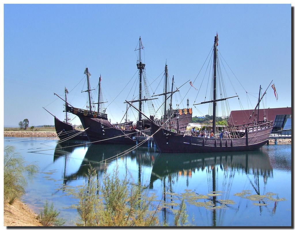 Photo d'Andalousie n°3. Navires de Christophe Colomb à Palos de la Frontera