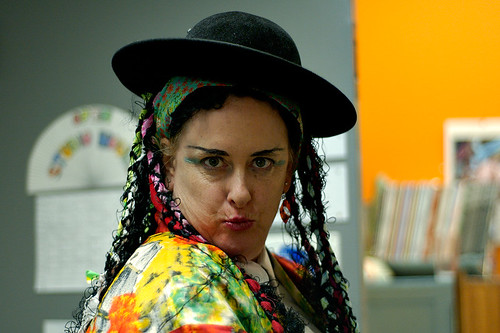 Sarah Whorf as Boy George