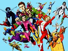 Legion of Superheroes by Gary Frank and Jon Sibal