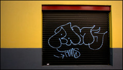 Taxi wall (psycho ry) Tags: red cortina yellow grey gris rojo amarillo travisbickle taxidriver fotonikko