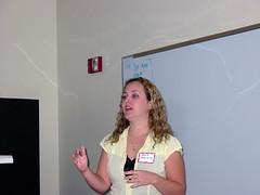 Shana Presenting