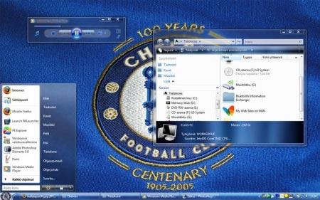 Football Visual Styles - Vista Theme