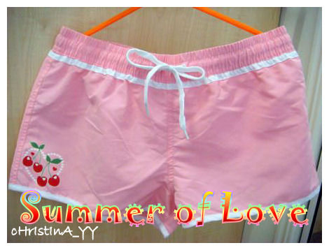 pink hot pants