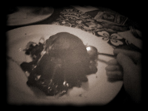Day 341...Molten Chocolate Cake...