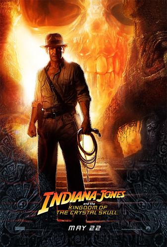 poster Indiana Jones 4 calavera cristal