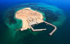 Environmental Changes (| HD |) Tags: sea public island chopper gulf authority aerial helicopter um environment hd kuwait arabian darwish hamad persiangulf wwwhamaddarwishcom almaradem