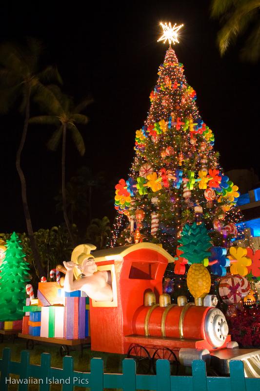 honolulu christmas city lights