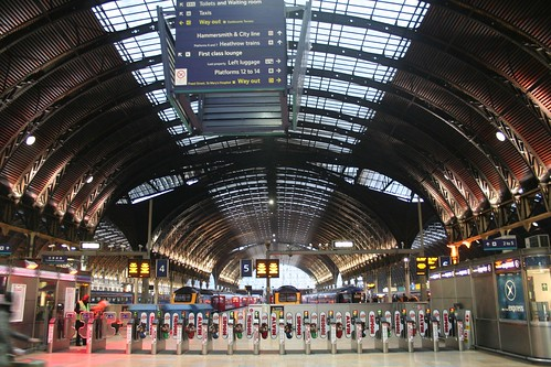 London - Paddington Train Station