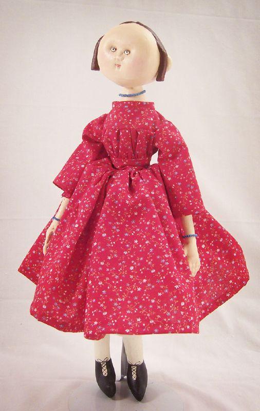 Izannah Walker style doll 006