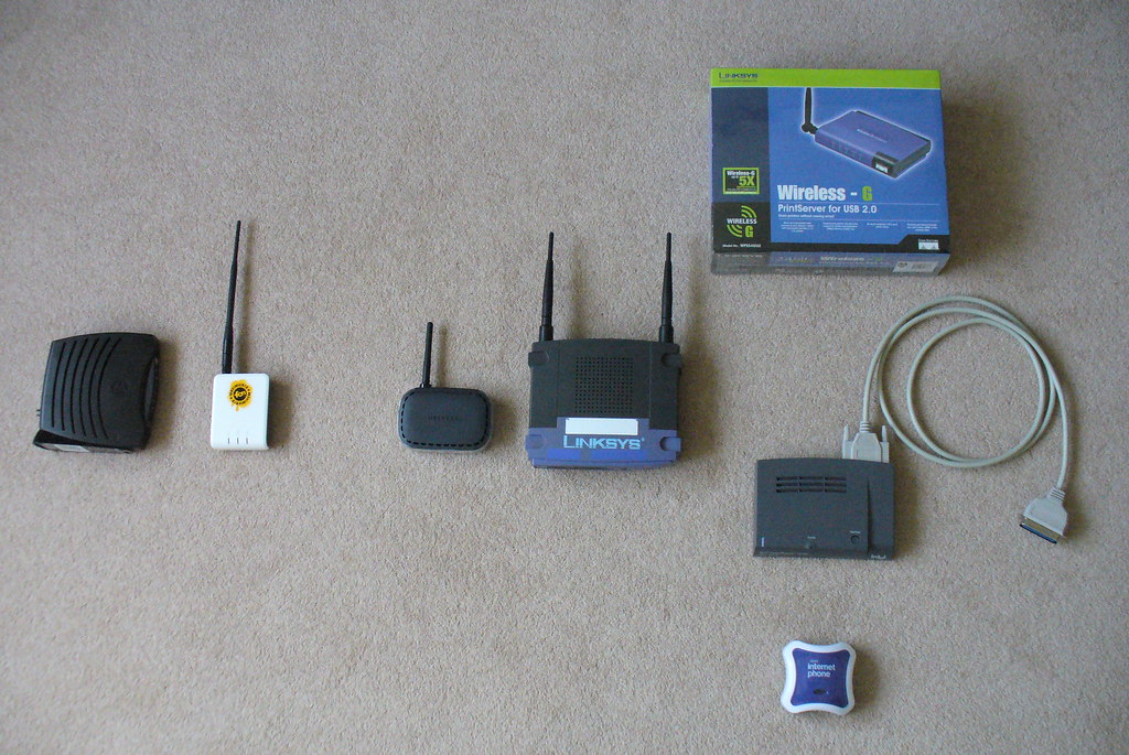 home wi-fi wireless network (no wires !)