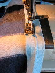 Sew Binding to Back