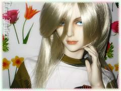 Kenji Blonde (**Rosa_Mystica**(Marika)) Tags: hound el mohair blonde takeru bjd superdollfie luts kenji blackwig furwig leeke dollshe