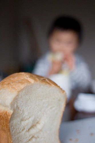 bread and a kid