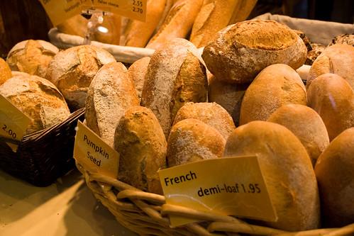 Terra Breads at Granville Market (close up)