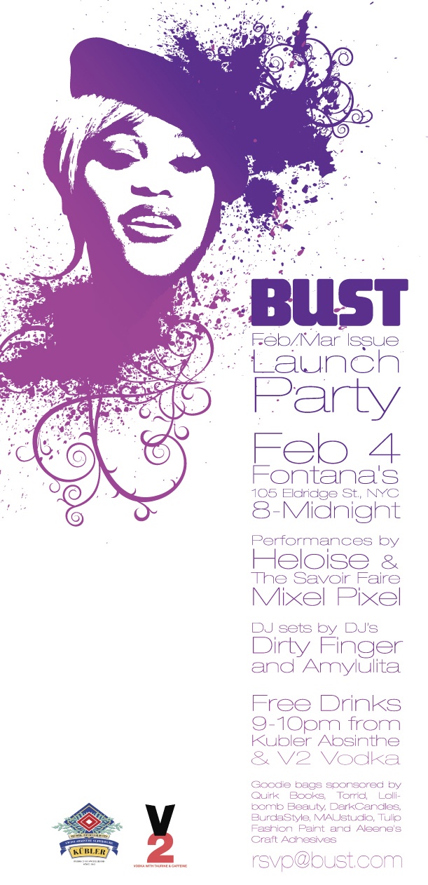 Bust Magazine Release Party