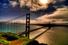 golden gate bridge (briantmurphy) Tags: bridge sun sunshine golden bay gate san francisco tokina1224 sanfranciscobay hdr d300 btm realistichdr anawesomeshot