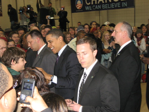Obama in the Pavilion