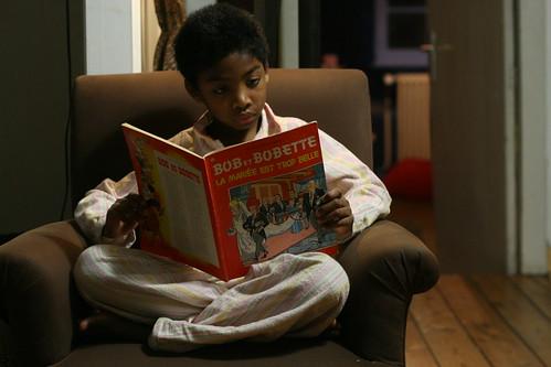 la lecture du soir ... d'avant la nuit
