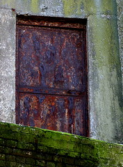 No Entry (mamacroft) Tags: door castle ruins rusty weathered unused seaface