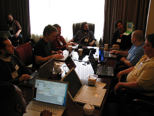 code4lib unconference by dchud, on Flickr