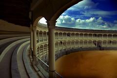 Plaza de toros de Ronda por maria.benitezmontero