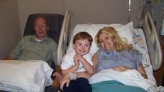 Grandpa, Dylan & Mom