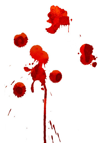 blood spatter news articles